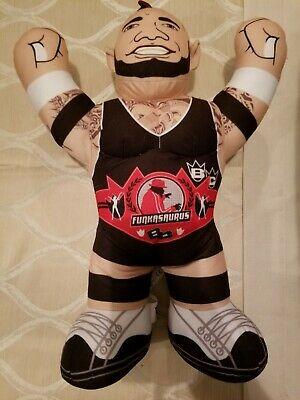 Brodus Clay Funkasaurus WWE WWF Plush Brawlin Buddies Mattel Toy Doll