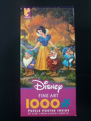 Disney Among Friends Snow White Jigsaw Puzzle 1000 piece Ceaco USA NEW!
