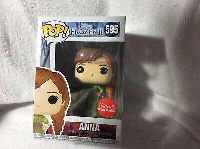 Disney Frozen 2 Anna Figure Pop Funko Michaels Exclusive New