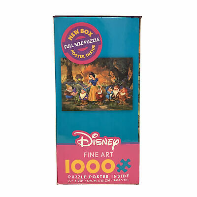 Disney New Fine Art Snow White Among Friends Jigsaw Puzzle 1000 Pc