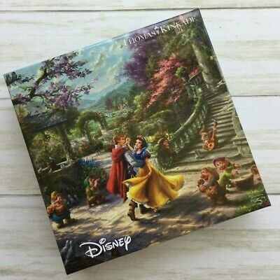 Disney Thomas Kinkade Snow White Dancing in the Sunlight 750 Piece Ceaco Puzzle