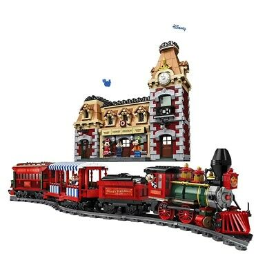 Disney Train and Station compatible with LEGO 71044 Fast Shipping