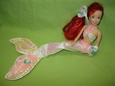 Disney TYCO 1990's The Little Mermaid ARIEL Undersea Party DOLL in Outfit w/Tail