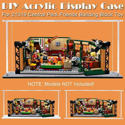 DIY Plastic Sheet Acrylic Board Fit For LEGO 21319 Central Perk Friends Bricks