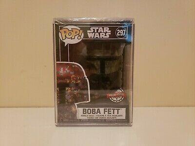 Funko Pop Boba Fett 297 Star Wars Special Edition Nib New Graffiti Icon target