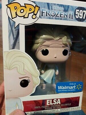 Funko POP! Disney Frozen 2 Elsa (Dark Sea) (Walmart Exclusive)