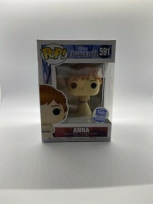 "Funko Pop! Disney ""Frozen 2"" Funko Shop Limited Edition - Anna #591"