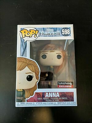 Funko Pop Disney Frozen II 2 Traveling Anna #598 Comes W/ Pop Protector