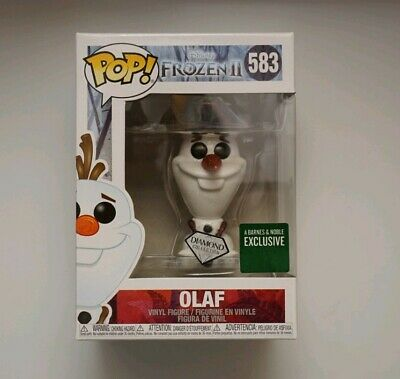 Funko Pop Disney Olaf Frozen 2 Barnes And Noble Exclusive Mint Condition