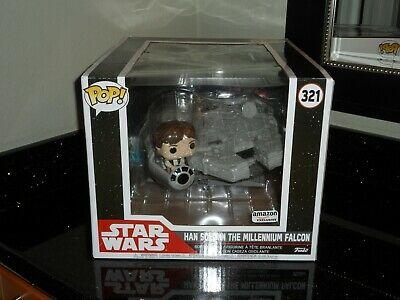 Funko POP! Han Solo In The Millenium Falcon Amazon Exclusive Rare Brand New!
