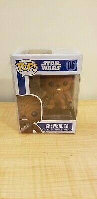 Funko POP! Star Wars #06 Chewbacca Vinyl Bobble Head. Blue Box. Vaulted / Rare