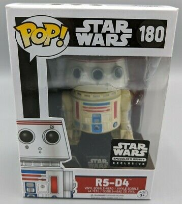 Funko POP! Star Wars #180 R5-D4 Smugglers Bounty Exclusive Vaulted Rare