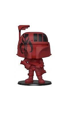 Funko POP! Star Wars Boba Fett WonderCon Target Shared Exclusive Red Burgundy