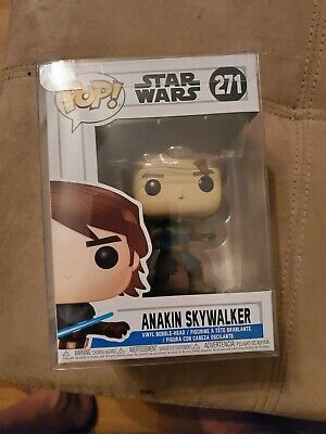 Funko Pop! Star Wars Clone Wars Anakin Skywalker #271 Rare