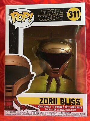 Funko POP! Star Wars Rise of Skywalker Episode 9 ~ ZORII BLISS #311 w/Protector