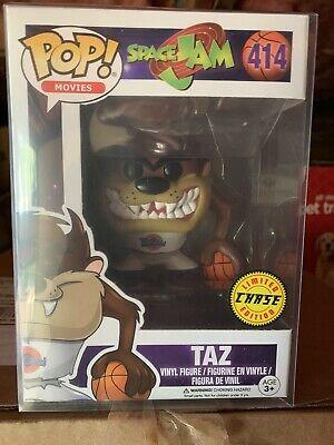 FUNKO POP! Taz Chase Space Jam Looney Toons Warner Bros New Vaulted Rare Jordan