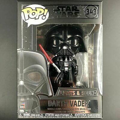 Funko Pop Vinyl Star Wars #343 Darth Vader (Lights & Sound) (2019) RARE