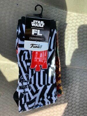 FUNKO STAR WARS FUTURA BOBA FETT R2-D2 SOCK SET 3 PACK IN HAND!