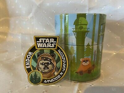 Funko Star Wars Smugglers Bounty Wicket Plush Keychain Tin Endor & Patch