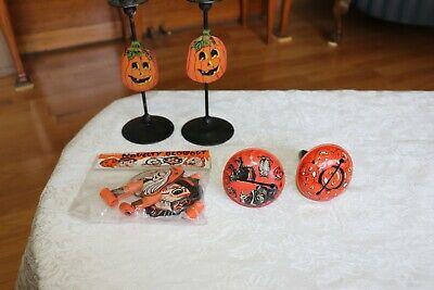 Halloween assortment Rattles candle sticks & Blowouts.