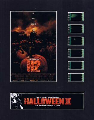 Halloween II (2009) Rob Zombie 35mm Movie Film Cell 8x10 Matted Display - w/COA