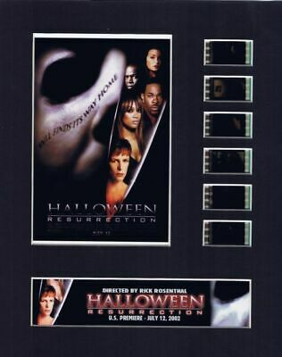 Halloween Resurrection (2002) 35mm Movie Film Cell 8x10 Matted Display - w/COA