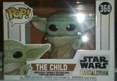 HOT RARE FUNKO POP! STAR WARS THE MANDALORIAN-THE CHILD 368