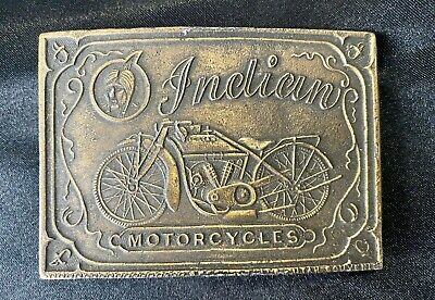 Indian Motorcycle Chief Scout Vintage Belt Buckle