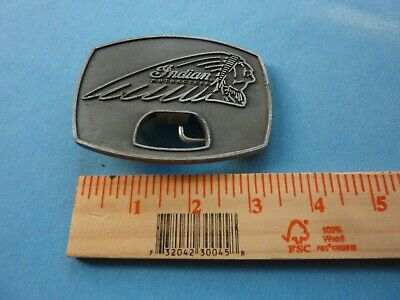 INDIAN MOTORCYCLES OWNERS BELT BUCKLE IMRG Owners CLUB Member MC Brass Manual
