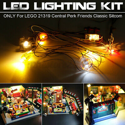 LED Light Lighting Kit ONLY For LEGO 21319 Central Perk Friends Classic j