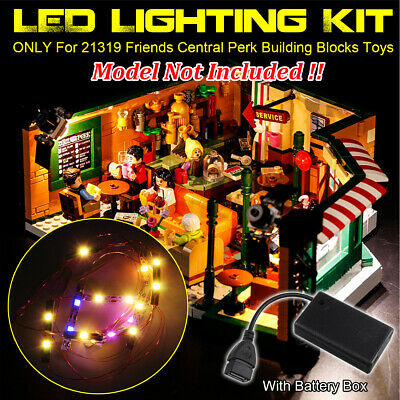 LED Light USB Lighting Kit ONLY For LEGO 21319 Friends Central Perk Bricks