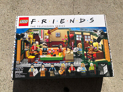 LEGO-21319-Ideas-Friends Central Perk 21319-New in Sealed Box!