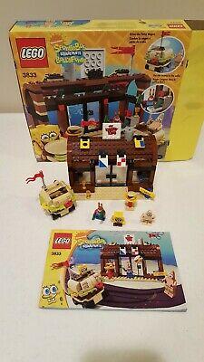 Lego 3833 SpongeBob SquarePants Krusty Krab Adventures Set w/ Box, Instructions