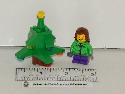Lego 60063 Advent Calendar 2014 Christmas Tree & Girl Figure Parts Only