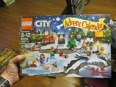 LEGO #60099 City Advent Calendar 2015 Building Kit