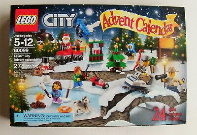 LEGO 60099 City: Advent Calendar 2015, CHRISTMAS, SANTA, SPACE SHUTTLE, TRAIN