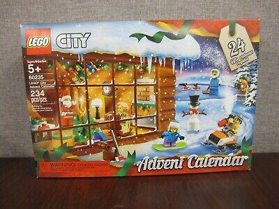 LEGO 60235 City Advent Calendar Building Kit 234 Pieces ~NEW & SEALED~