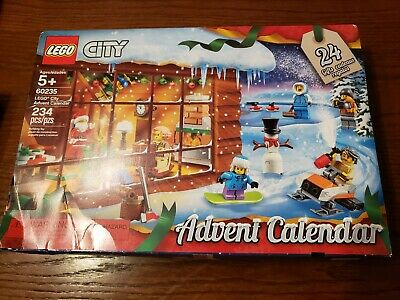 Lego 60235 Lego City Advent Calendar Building Kit New In Box 2019 (234 Pieces)