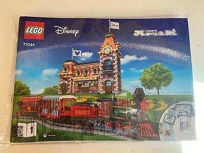 Lego 71044 Instruction For Disney Train and Station