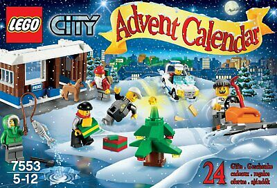 Lego 7553 City Advent Calendar BRAND NEW AND FACTORY SEALED