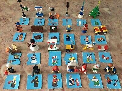 LEGO 7687 City Advent Calendar 24 days of Christmas complete set