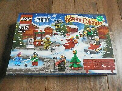 LEGO City 60133 - 2016 Advent Calendar Complete w/ Instructions & 7 Mini figures