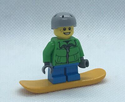 Lego City Advent Calendar Boy Snowboarder Minifigure Winter.