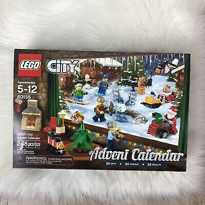 LEGO CITY ADVENT CALENDER 2017 (60155) NEW