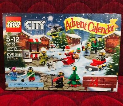 LEGO CITY CHRISTMAS ADVENT CALENDAR #60133 Preowned