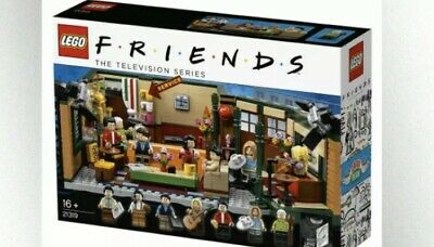 LEGO FRIENDS Central Perk Cafe Ideas Set 21319 Brand New