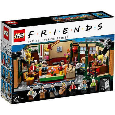 LEGO Ideas 21319 Central Perk Friends Rachel Ross Chandler Monica Joey Cafe NEW