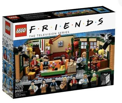LEGO IDEAS CENTRAL PERK FRIENDS THE TV SERIES NEW SEALED 21319 TELEVISION SHOW
