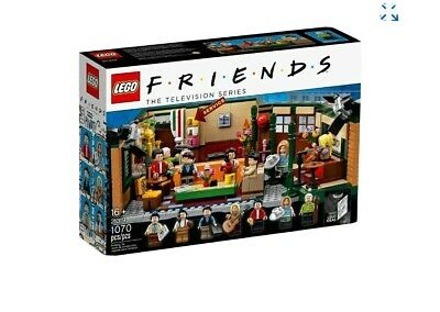 LEGO IDEAS FRIENDS CENTRAL PERK 21319 NEW IN BOX