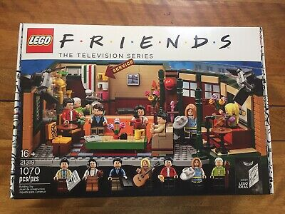 LEGO IDEAS FRIENDS CENTRAL PERK New, MIB. Set is On Hand: Hard to Find! +BONUS